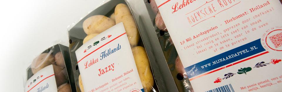 Lekker Hollands - Een lijn oer-Hollandse aardappelen met smaak!