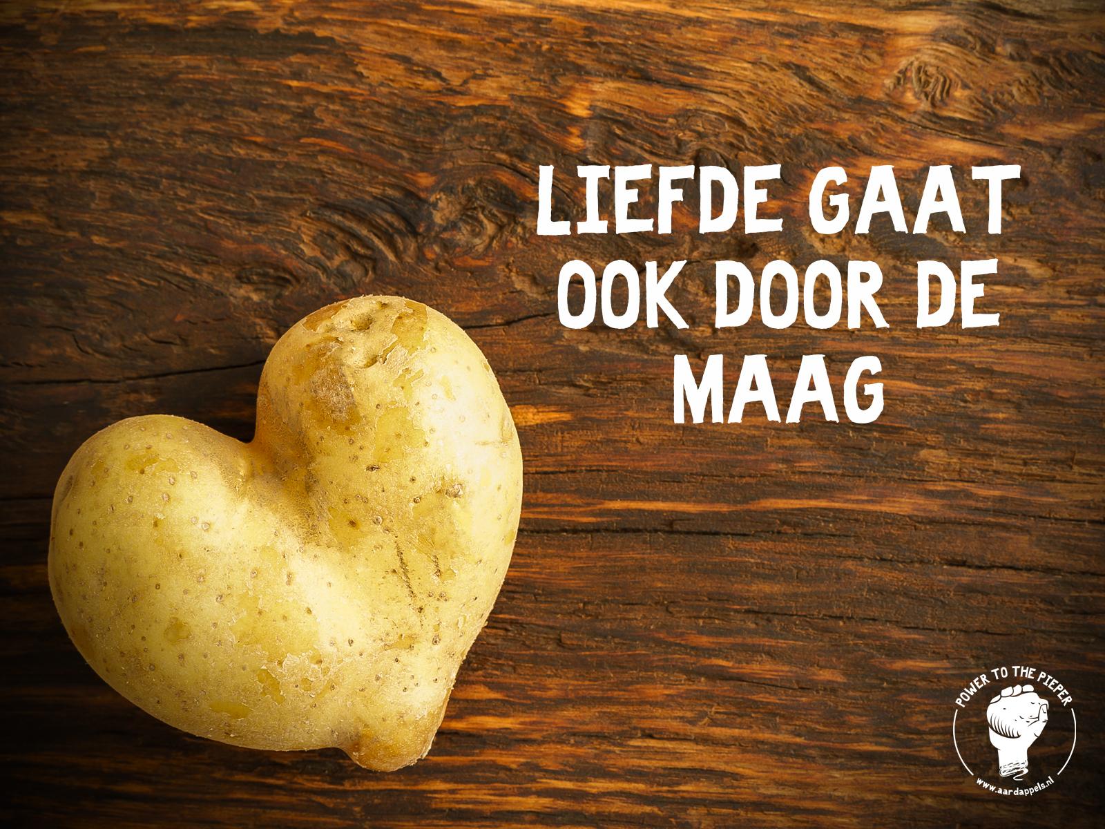 Jac van den Oord - Valentijnsdag! Liefde gaat door de maag!