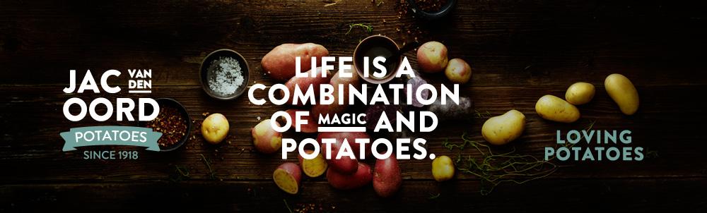 Jac van den Oord Potatoes - onze nieuwe huisstijl