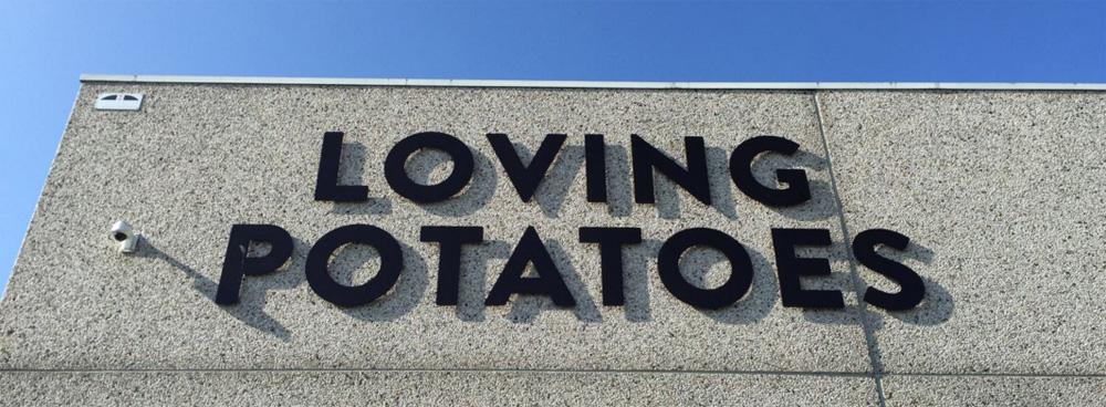 Loving Potatoes... een payoff die Jac van den Oord op het lijf geschreven is