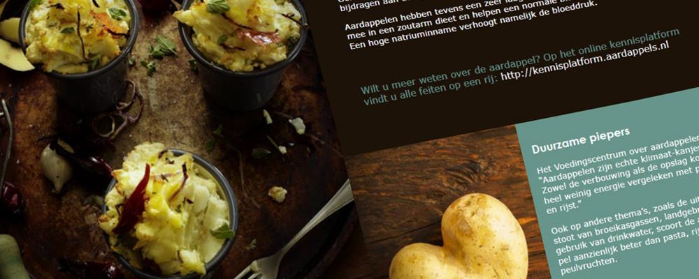Jac van den Oord Potatoes presenteert Potapas receptenboek!
