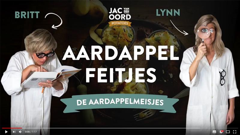 Vlog #3 van de Aardappelmeisjes staat online