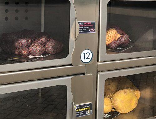Aardappelen uit de automaat: voordelig en hygiënisch