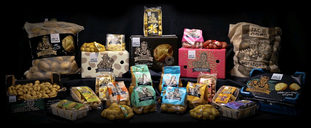 Jac van den Oord - Een totaalassortiment aan verse, onbewerkte aardappelen voor zakenlijke eindgebruiker en consument
