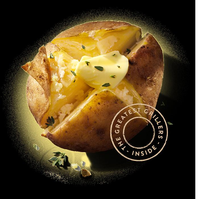 Jac van den Oord Grillers - Special Purpose Potatoes - voor poffen en grillen