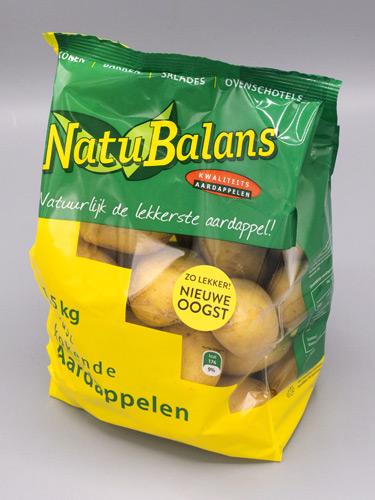 Vast kokende Natubalans Aardappelen van Jac van den Oord Potatoes in 1,5kg blokbodemzak