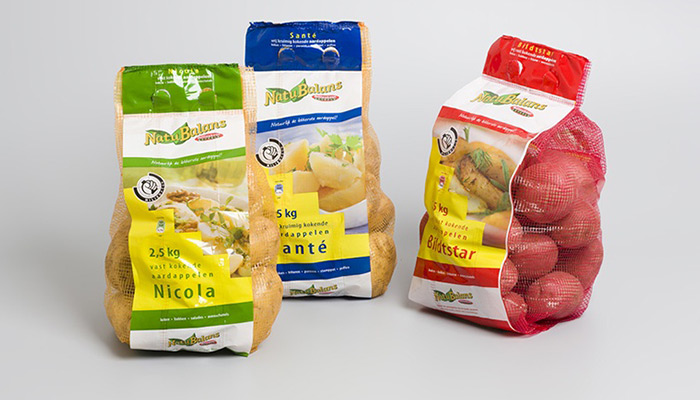 Natubalans aardappelen in 2,5kg stazakken van Jac van den Oord Potatoes